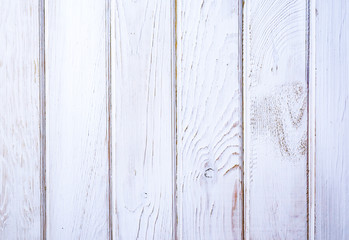 pine board is painted white