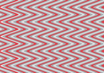 Seamless wavy stripes pattern