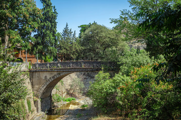 Botanical garden in Tbilisi, Georgia