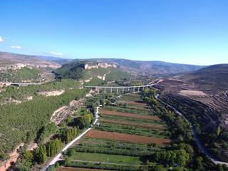 Ademuz (Valencia) desde el aire