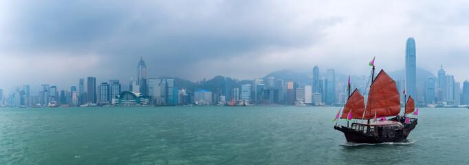 Fotobehang - hong kong scenery