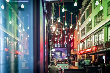 Christmas lights 2016 in Carnaby, London Fotomurales