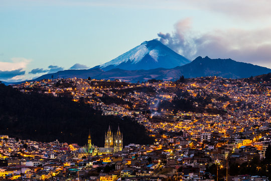 Quito and Cotopaxi