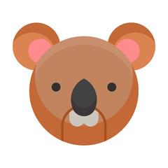 Koala animals icon logo design mammals illustration