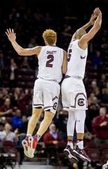 NCAA Basketball: Western Michigan at South Carolina