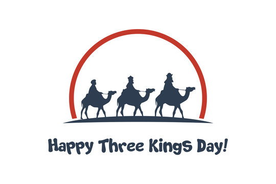 happy three kings day card