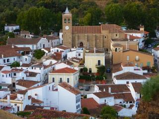 Almonaster la Real, pueblo español de la provincia de Huelva, Andalucía (España)