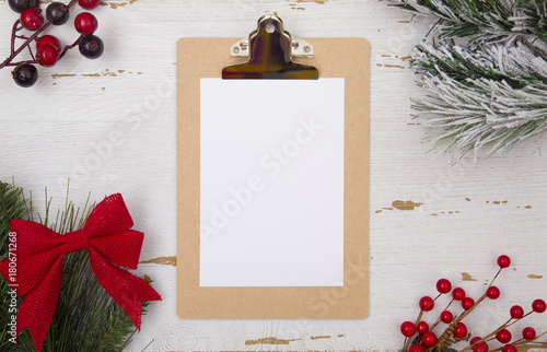 christmas themed background with customizable space stock photo and