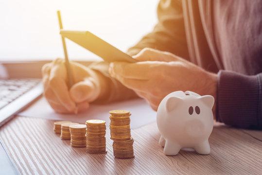 Savings, finances, economy and home budget