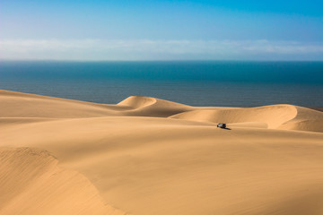 Atlantic shore of Namibia