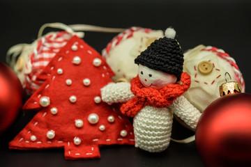 Christmas decorations. Snowman