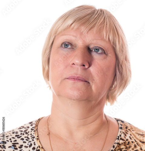 Middle Aged Woman Portrait