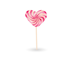 Sweet candy isolated. Vector illustration.