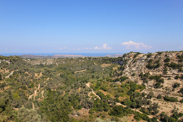 Margarites Gorge, West Crete, Panorama