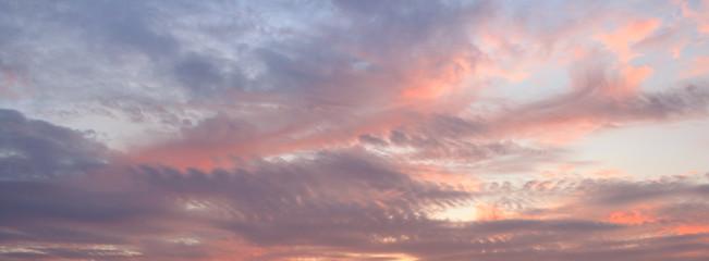 Sky sunset or sunrise background.