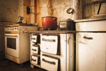Cucina Abbandonata Dell'Allentaore