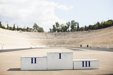 stadium of the first Olympic Games