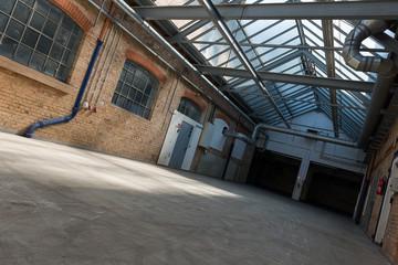 Renovierte alte Fabrikhalle 1