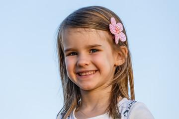 Mädchen, 5 Jahre, Portrait