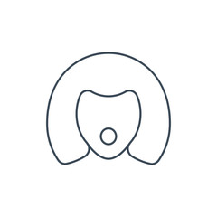 The linear vector icon sex doll