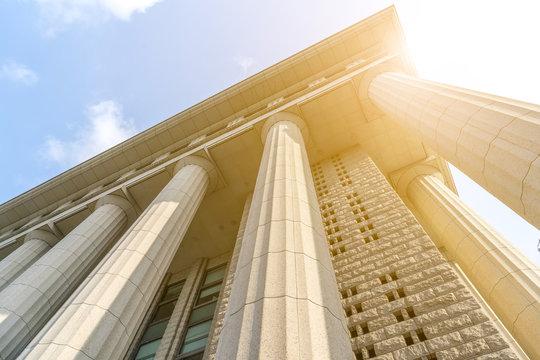 European style Roman column