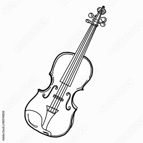 violin drawing stock photo and royalty free images on fotolia com