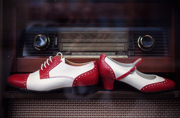 Vintage Male and Female Shoes