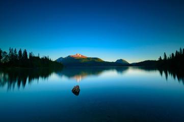 typical norwegian lake