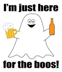 Happy Halloween Ghost Boos