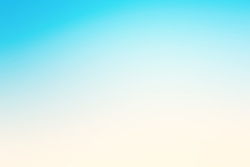 Abstract blue effect background with summer beach mood.