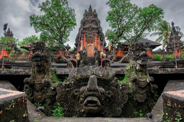 Pura Taman Saraswati (Ubud Water Palace). Temple in Bali, Indonesia