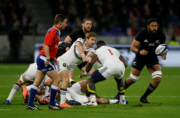 Internationals- France v New Zealand