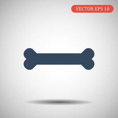 bone vector icon.Eps 10.