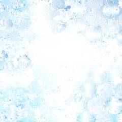 Blue stained glowing background
