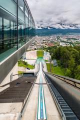 Bergisel tower in Innsbruck, Austria