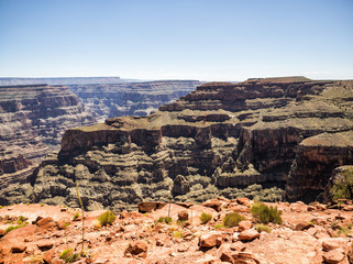 Grand Canyon West Rim  - Eagle Point - Arizona, AZ, USA