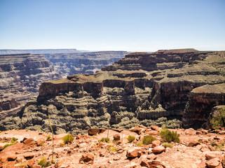 Grand Canyon West Rim  - Eagle Point - Arizona, AZ, USA