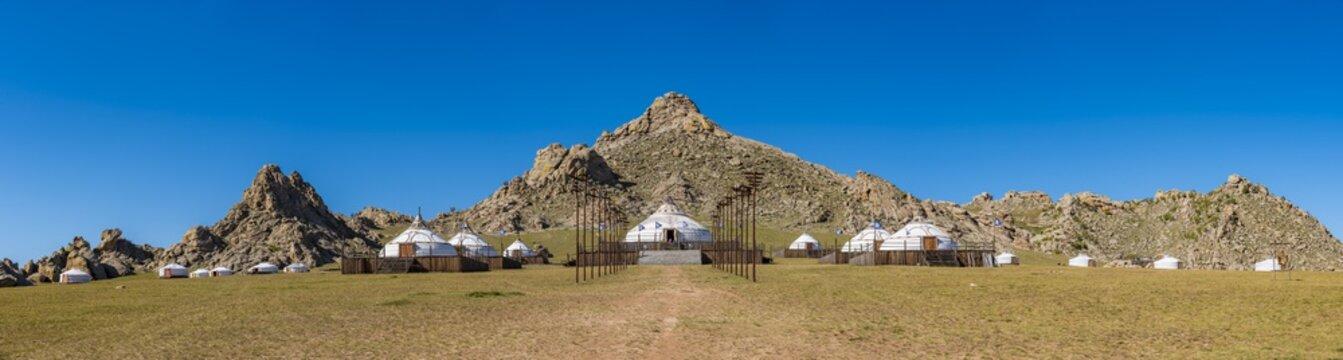 Feldlager von Dschingis Khan
