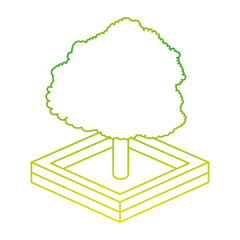 Isometric tree design