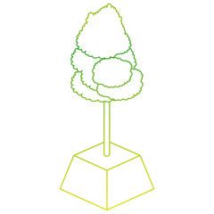 Isometric tree design