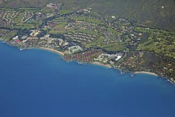 Wailea - Aerial View - Island of Maui - Hawaii
