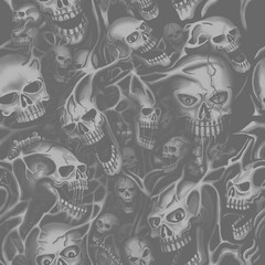 Skull Pattern seamless