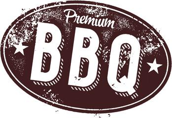 Premium BBQ Vintage Restaurant Sign