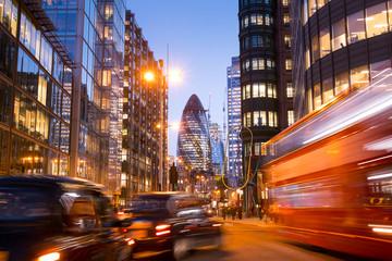 Door stickers City building London office building skyscraper, working & meeting