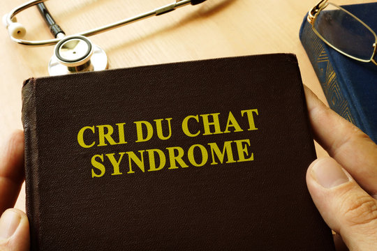 Book with title Cri Du Chat Syndrome.