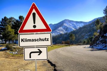 Schild 287 - Klimaschutz