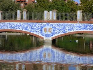 Cerámica de El Puente del Arzobispo en Talavera de la Reina ( Toledo, Castilla la Mancha, España)