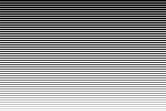 Horizontal speed line halftone pattern with gradient effect. Template for backgrounds and stylized textures .