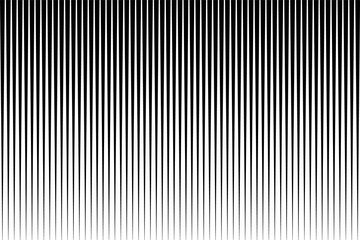 Black and white simple pattern. Light effect. Gradient background with line . Halftone design . Wall mural