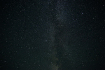 Night natural sky, Milky Way. Beautiful night starry sky